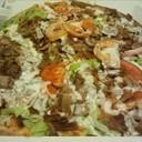 Pizza con Kebab